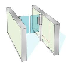 Auto Gate Flap Barrier 7
